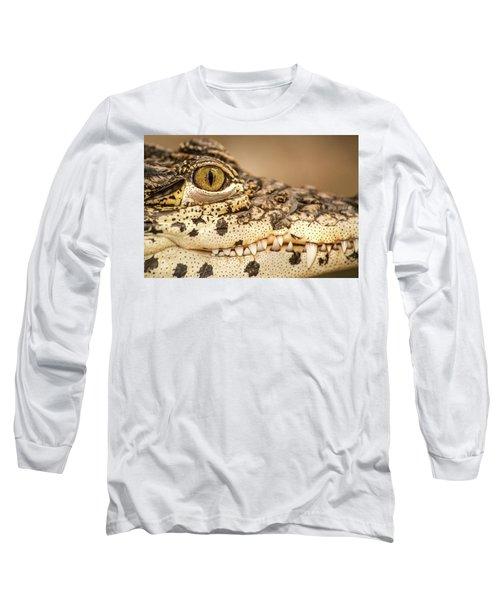 Cuban Croc Smile Long Sleeve T-Shirt