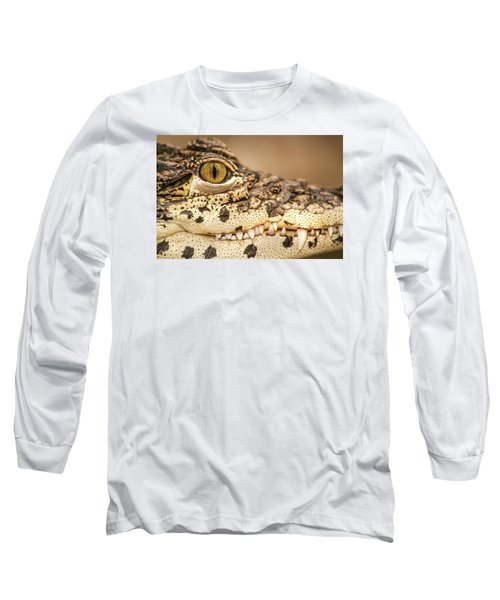 Cuban Croc Smile Long Sleeve T-Shirt