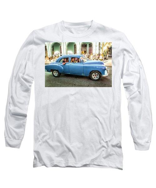 Cuban Taxi Long Sleeve T-Shirt