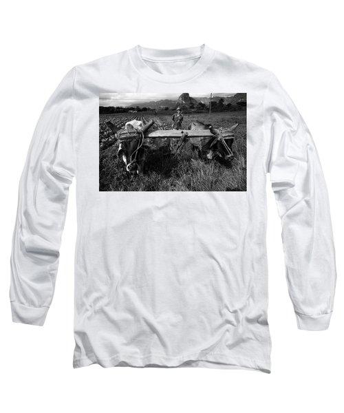 Cuban Worker I Long Sleeve T-Shirt