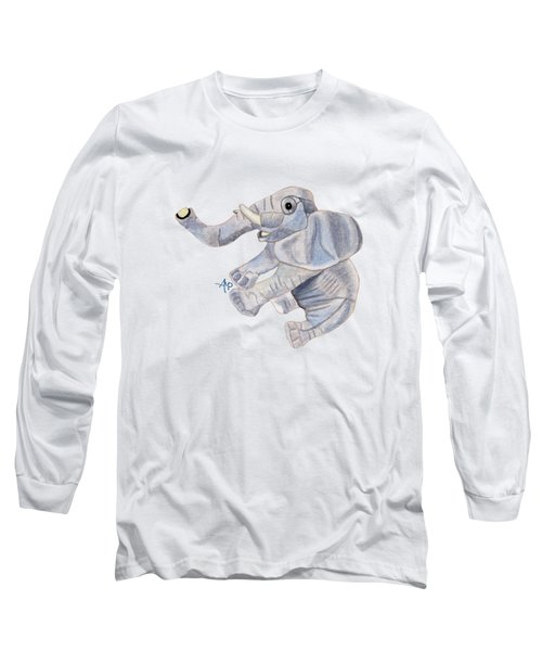Cuddly Elephant IIi Long Sleeve T-Shirt