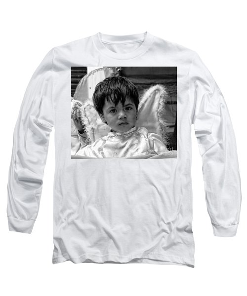 Long Sleeve T-Shirt featuring the photograph Cuenca Kids 893 by Al Bourassa