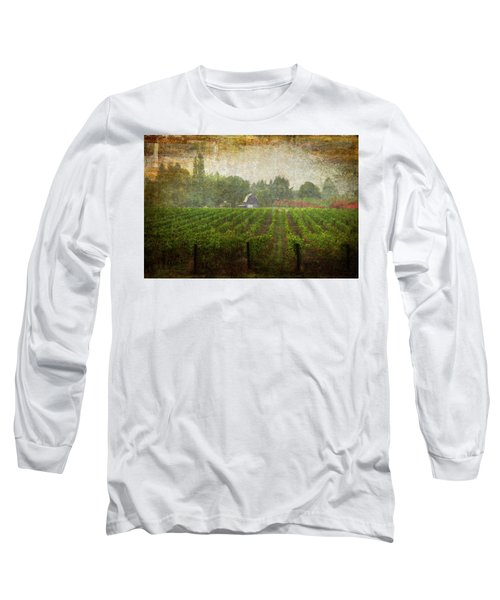 Cultivating A Chardonnay Long Sleeve T-Shirt