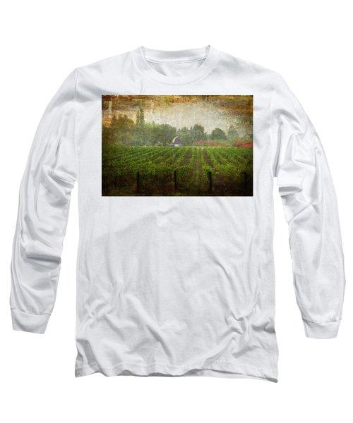 Cultivating A Chardonnay Long Sleeve T-Shirt