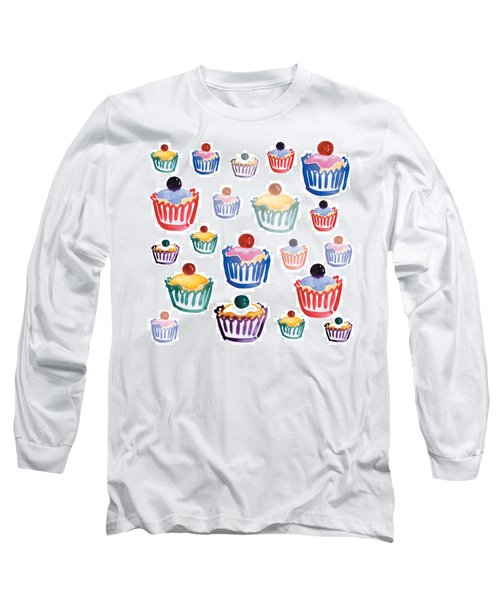 Cupcake Crazy Long Sleeve T-Shirt
