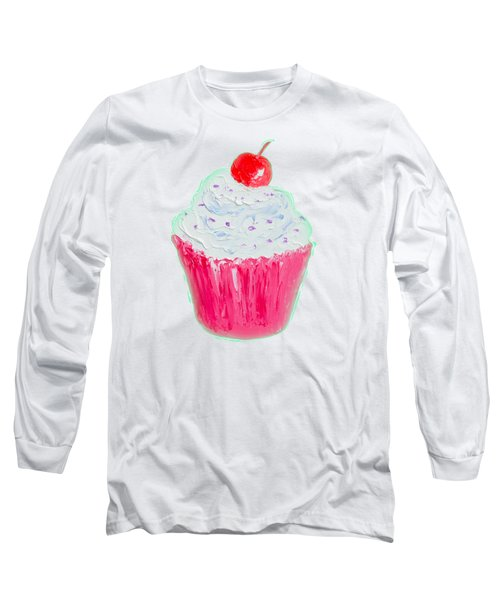 Cupcake Painting Long Sleeve T-Shirt