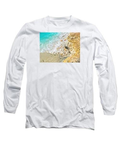 The Sea Below Long Sleeve T-Shirt by Expressionistart studio Priscilla Batzell
