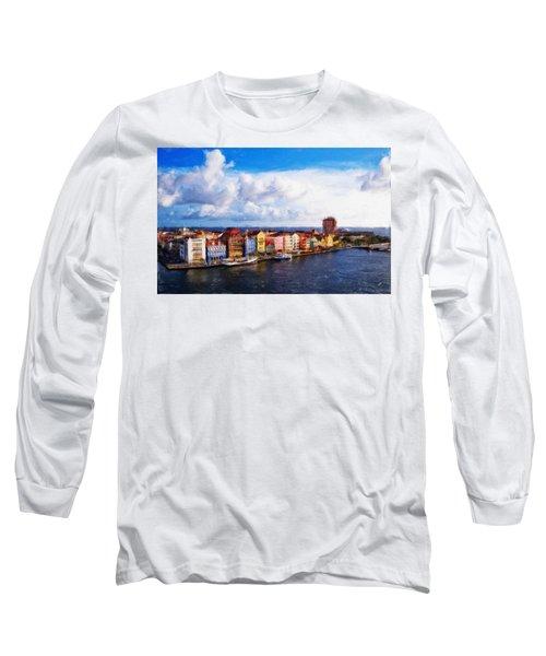 Curacao Oil Long Sleeve T-Shirt