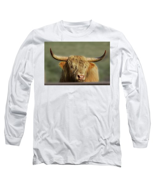 Curious Highlander Long Sleeve T-Shirt