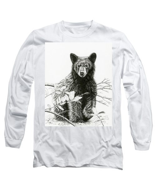 Curious Young Bear Long Sleeve T-Shirt