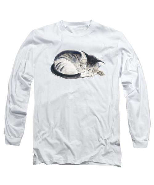 Curl Up Long Sleeve T-Shirt by Melly Terpening