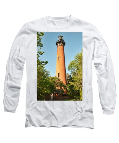 Currituck Beach Lighthouse Long Sleeve T-Shirt