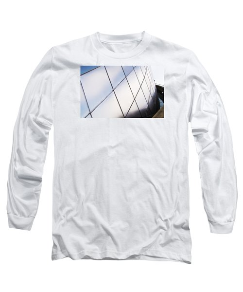 Curve Of The Cone Long Sleeve T-Shirt by Martin Cline