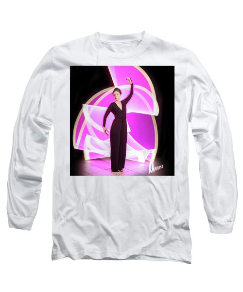 Curves Long Sleeve T-Shirt by Andrew Nourse