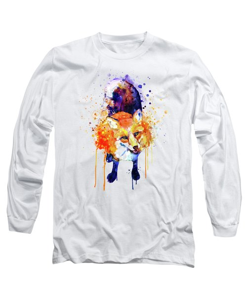 Cute Happy Fox Long Sleeve T-Shirt