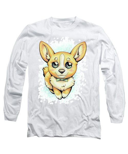 Cutie Corgi Long Sleeve T-Shirt