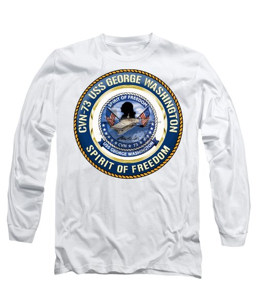 Cvn-73 Uss George Washington Long Sleeve T-Shirt