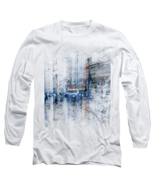Cyber City Design Long Sleeve T-Shirt