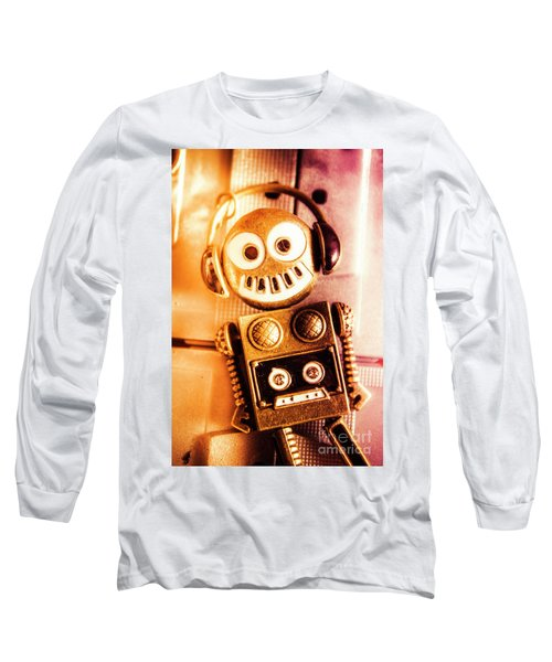 Cyborg Dance Party Long Sleeve T-Shirt