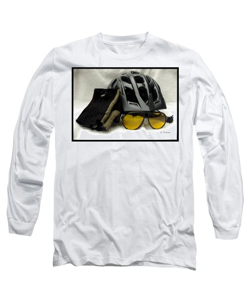 Long Sleeve T-Shirt featuring the photograph Cycling Gear by James C Thomas