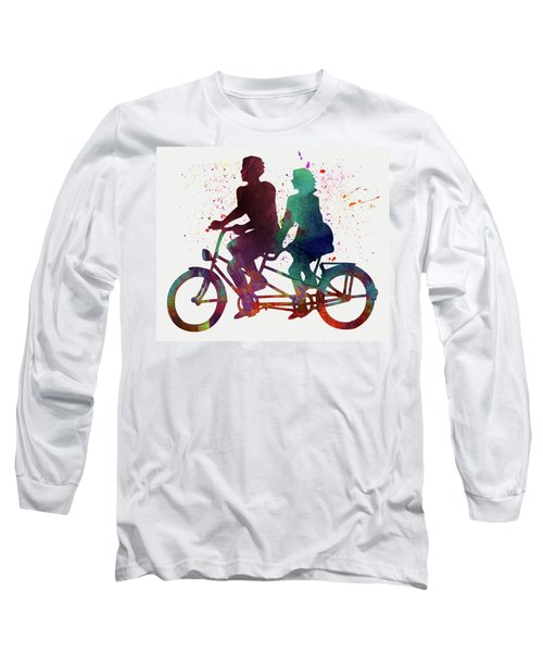 Cyclistes Long Sleeve T-Shirt