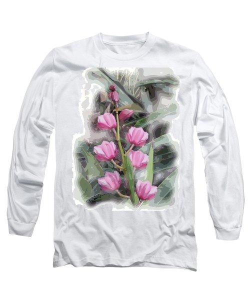 Cymbidium Long Sleeve T-Shirt