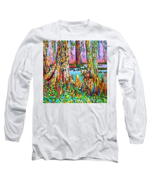 Cypress Spirit Rising Long Sleeve T-Shirt