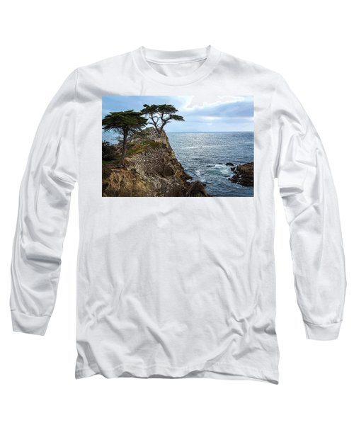 Cypress Tree On The Point Long Sleeve T-Shirt