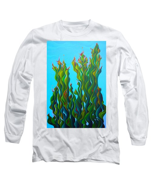 Cypressing A Wave Long Sleeve T-Shirt