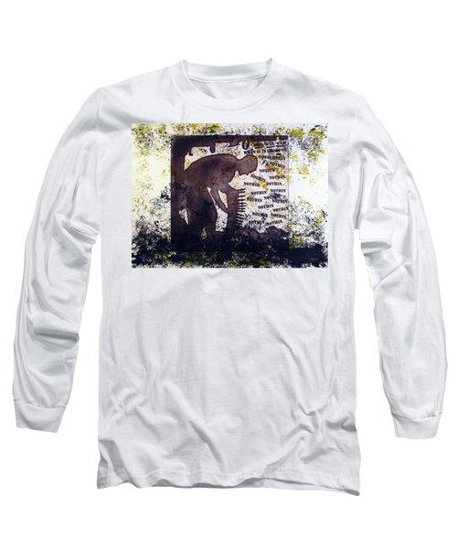 D U Rounds Project, Print 29 Long Sleeve T-Shirt