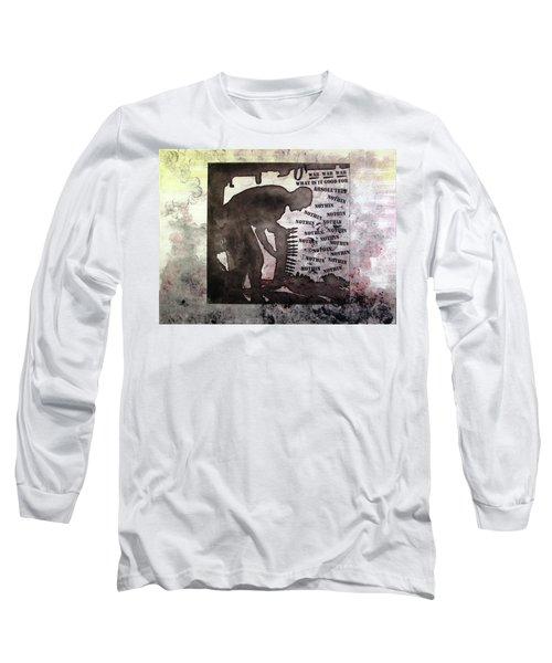 D U Rounds Project, Print 30 Long Sleeve T-Shirt