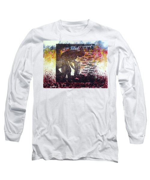 D U Rounds Project, Print 37 Long Sleeve T-Shirt