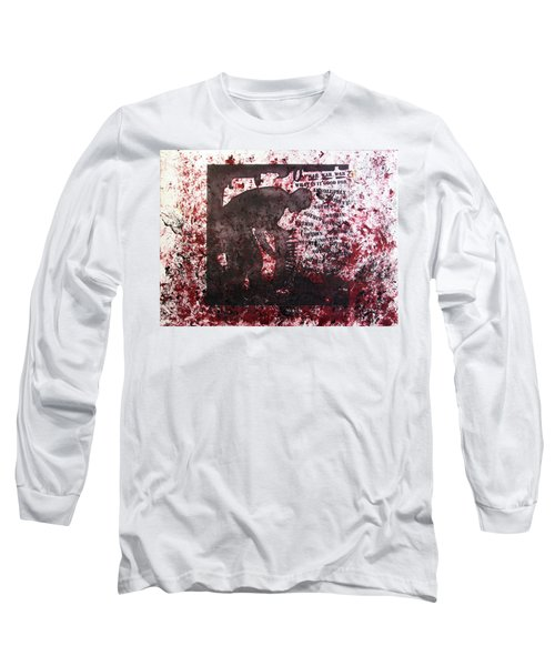D U Rounds Project, Print 39 Long Sleeve T-Shirt