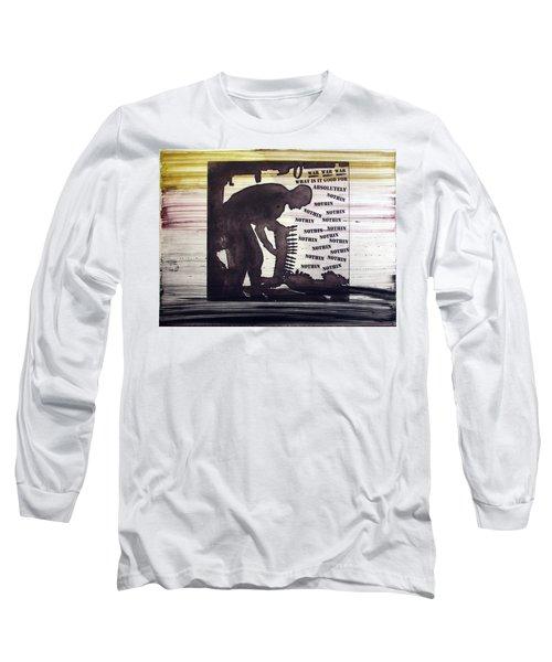 D U Rounds Project, Print 45 Long Sleeve T-Shirt