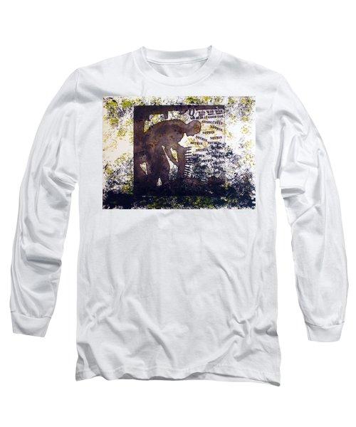 D U Rounds Project, Print 47 Long Sleeve T-Shirt