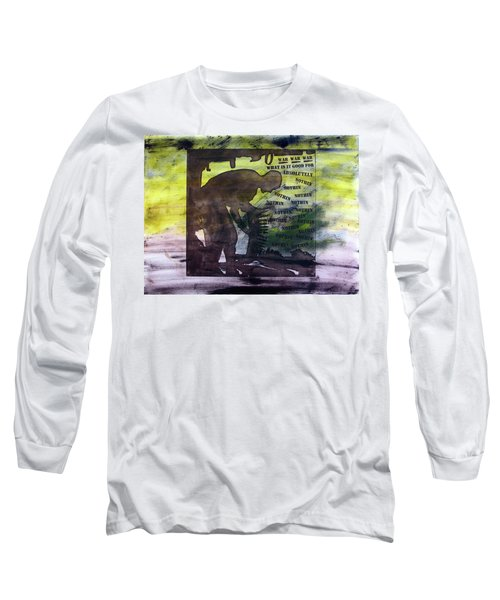 D U Rounds Project, Print 48 Long Sleeve T-Shirt