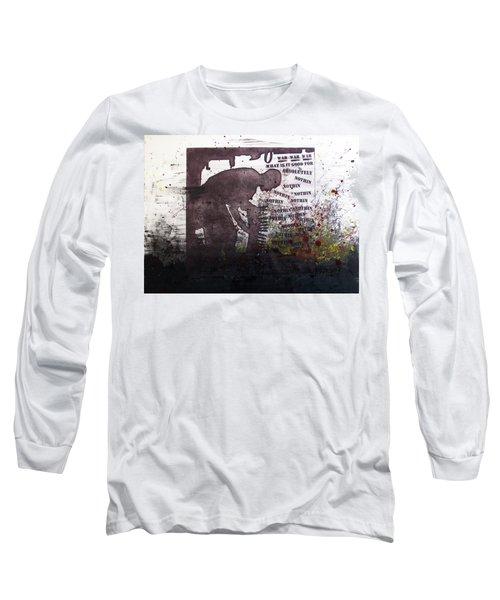 D U Rounds Project, Print 51 Long Sleeve T-Shirt