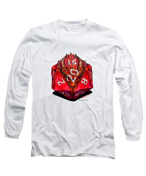 D20 Dragon T Shirt Long Sleeve T-Shirt