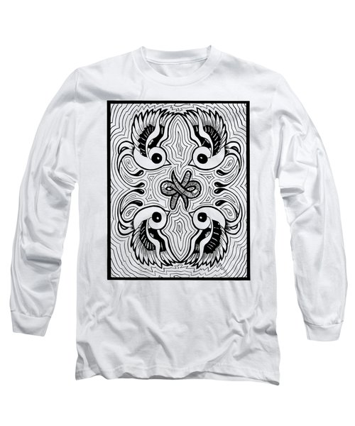 Da Boids Long Sleeve T-Shirt by Vicki Von Doom