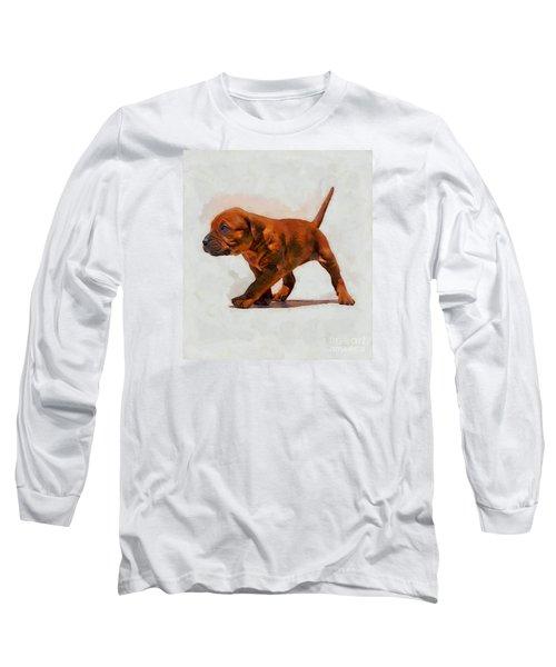 Long Sleeve T-Shirt featuring the photograph Daddies Girl by John  Kolenberg