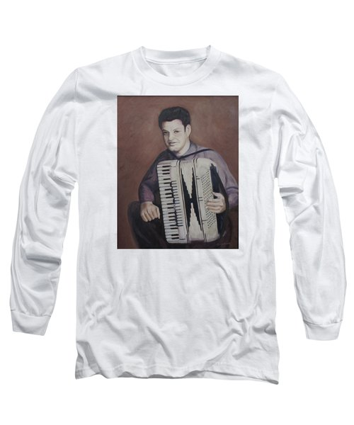 Daddy And His Accordion Long Sleeve T-Shirt