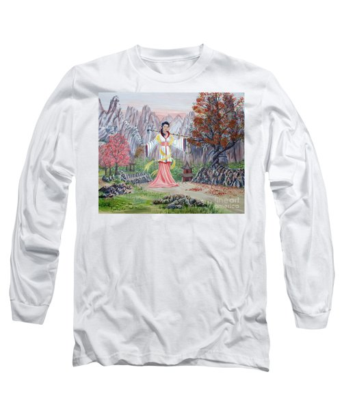 Dai Yuu Long Sleeve T-Shirt by Anthony Lyon