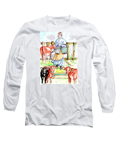 Daily Chores Long Sleeve T-Shirt