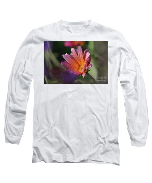 Long Sleeve T-Shirt featuring the photograph Daisy At Dusk by Debby Pueschel