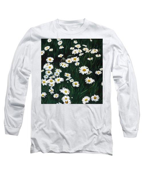 Daisy Bouquet Long Sleeve T-Shirt