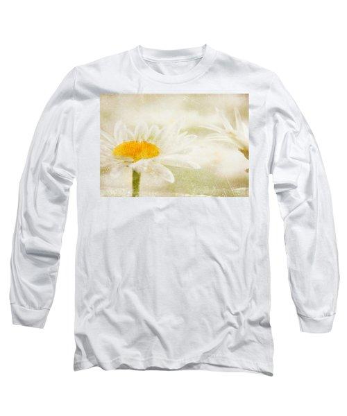 Daisy Long Sleeve T-Shirt by Catherine Alfidi