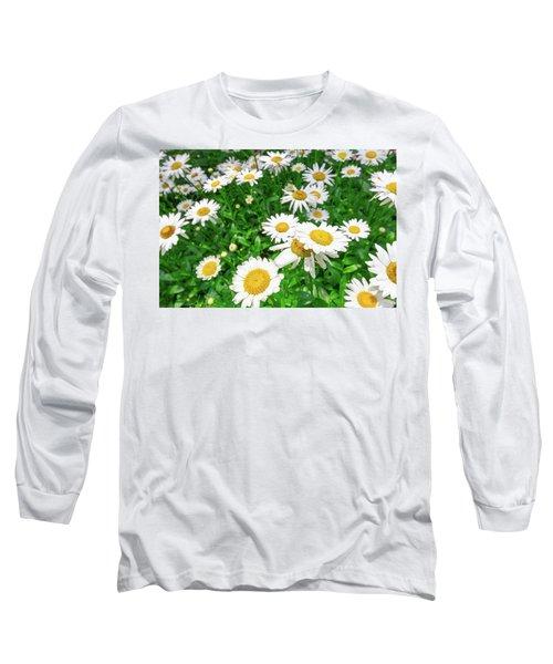 Daisy Garden Long Sleeve T-Shirt