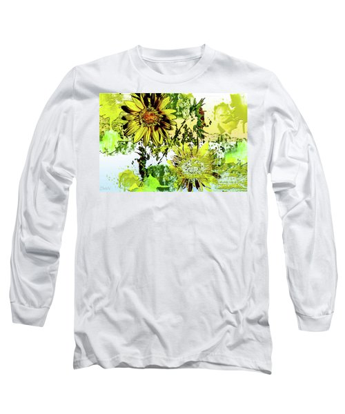 Sunflower On Water Long Sleeve T-Shirt