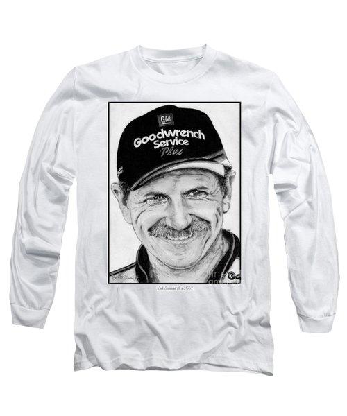 Dale Earnhardt Sr In 2001 Long Sleeve T-Shirt