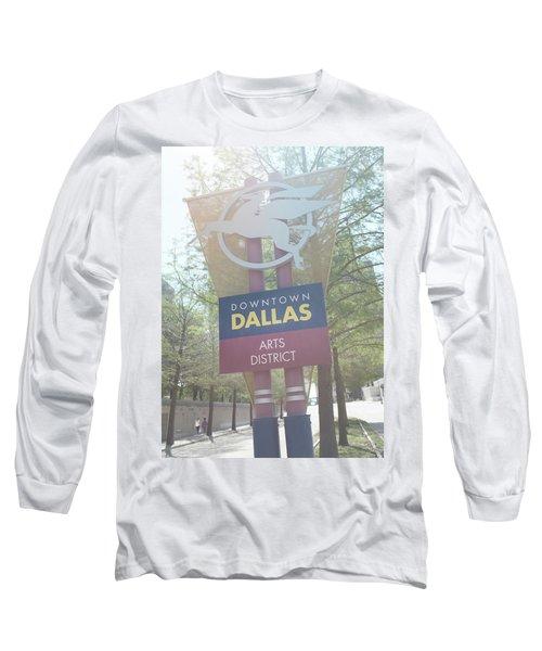 Dallas Arts District Long Sleeve T-Shirt
